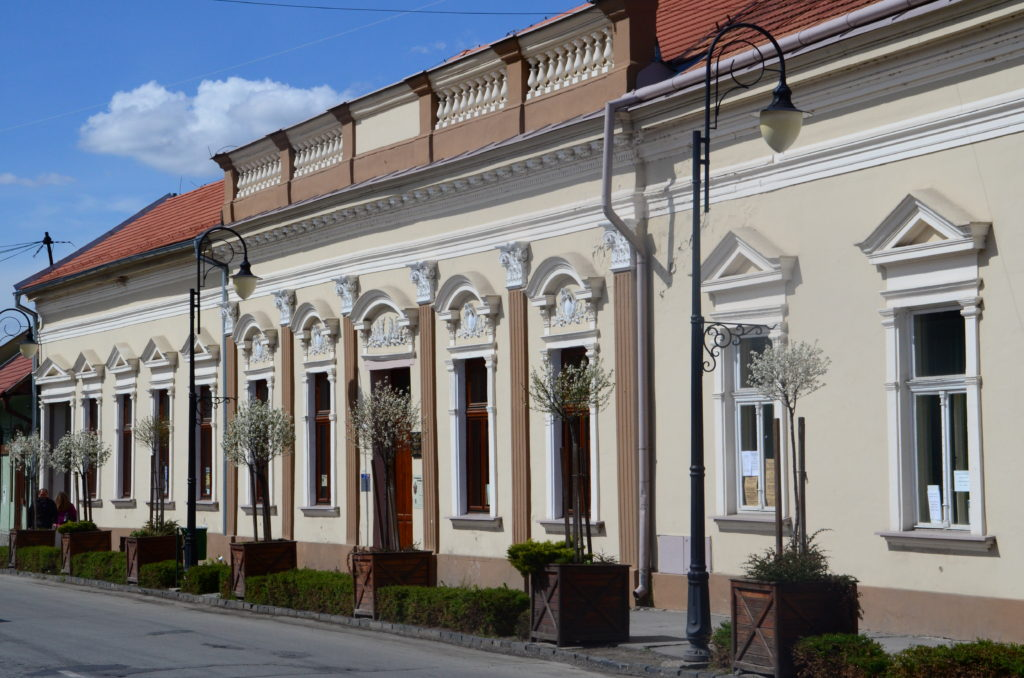 Mestské vlastivedné múzeum, budova Vigadó. Foto - Gábor Illés