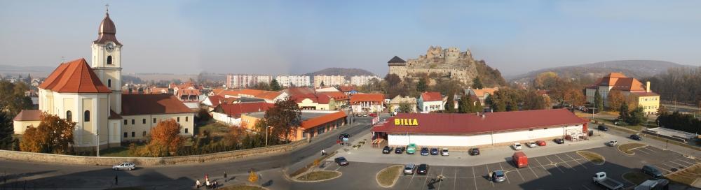 Fiľakovo, región Novohrad. Foto - Z. Schnelczer