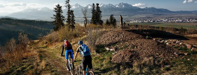 Jún v Poprade patrí cyklistom. #ObjavUdržateľnéSlovensko na bicykli