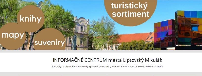 Informačné centrum v Liptovskom Mikuláši spustilo nový e-shop