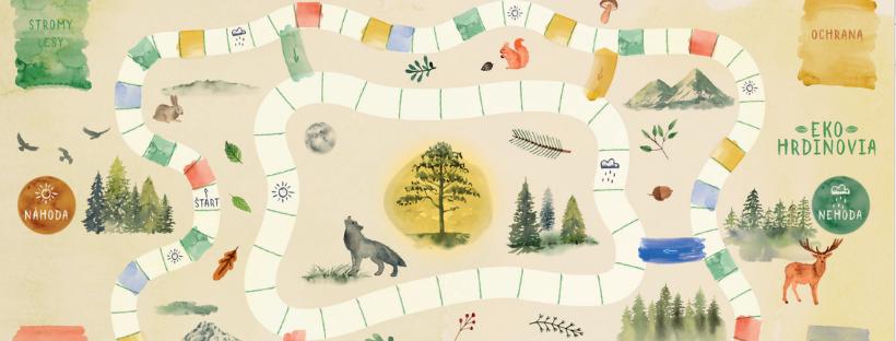 Zachráňte najstarší strom v Tatrách v spoločenskej hre Ekohrdinovia #ObjavUdržateľnéSlovensko