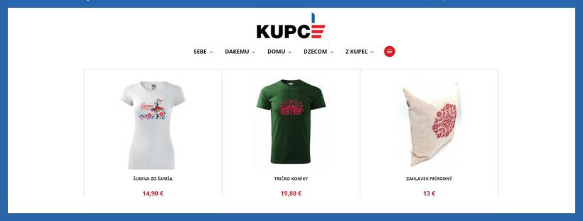 Turistická informačná kancelária Bardejov spustila nový e-shop KUPCE